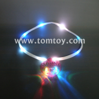 heart-shaped pendant led necklace tm00791