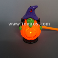 lantern pumpkin with witch hat tm04521
