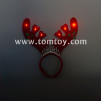 led antler halloween headband tm04612