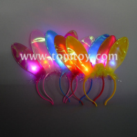 led blinking rabbit ear headband tm02741