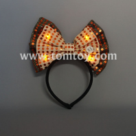 led bowtie headband tm04511-or