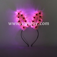 led bunny ear daisy headband tm02669