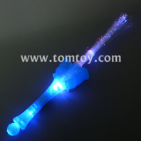 led butterfly fiber optic wand tm101-116-bl