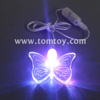 led butterfly pendant necklace tm000-066-butterfly-pl