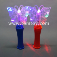 led butterfly spinning wand tm04453