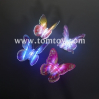 led butterfly wall sticker light tm05042