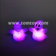 led cartoon halloween ghost table night light tm03138