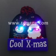 led christmas knitted hat tm06917