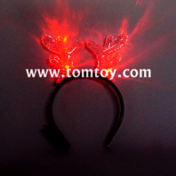 led christmas reindeer headband tm02952