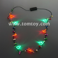 led christmas tree necklace tm03654