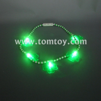 led clovers bead necklace tm041-068
