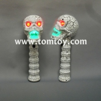 led crack skull head wand with sound tm02615