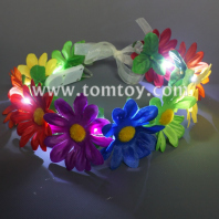 led crown floral garland tm03086-rainbow