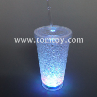 led cup with straw tm03680