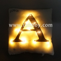 led cushion with letters tm03187-a