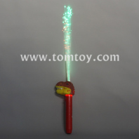 led dinosaur t-rex light up fiber optic wand tm04032