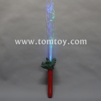 led dinosaur triceratops fiber optic wand tm04035