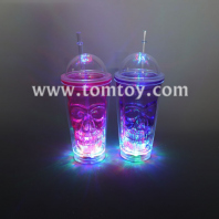 led double wall skull cup tm04777