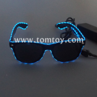 led el wire tassels glasses tm03903-bl