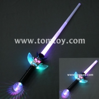 led expandable skull pirate sword with prism ball tm02602