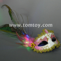 led fantasy feather masks tm179-010-pk