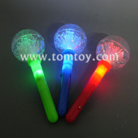 led fiber optic globe wands tm102-023