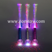 led fiber optic unicorn wand with ball tm03308