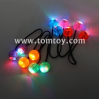 led finger yo-yo ball hand fidget toy light up skill play control the roll game anti stress toys for tm02866