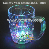 led flashing beer mug tm158-012