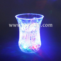 led flashing beer whisky shot glass mug tm01859