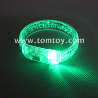 led flashing bracelet fun colorful bubble light up bracelets tm02570