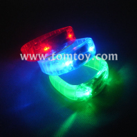 led flashing bracelet wristband tricolor tm-062d