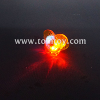led flashing butterfly shaped jelly rings tm01944