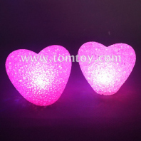 led flashing eva heart shaped lights tm03128