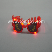 led flashing foot glasses tm00868