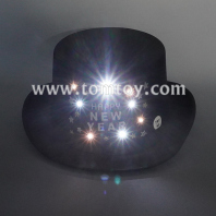 led flashing happy new year hat tm06570