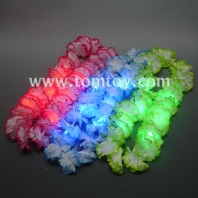 led flashing hawaiian lei garland tm00611
