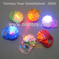 led flashing jelly bumpy rings tm173-005
