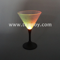led flashing martini cocktail glasses tm02627
