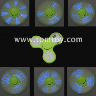 led flashing message fidget spinner tm02810-gn