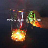led flashing multicolor light up beer beverage mug tm02415