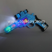 led flashing revolver gun tm02826-bl