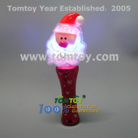 led flashing santa claus wand tm101-149