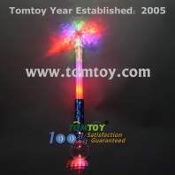 led flashing snowflake ball wand tm012-055-bl