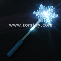 led flashing snowflake wand tm00247