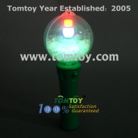 led flashing snowman ball wand tm025-045
