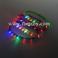 led flashing spike necklace tm01496