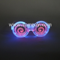 led flashing spiral glasses tm00881