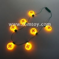led flower-de-luce bulb necklace tm02852