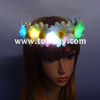 led flower headband crown garland boho for festival wedding tm03086